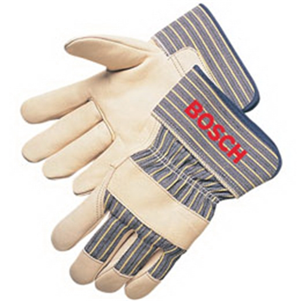 Premium cowhide palm work gloves