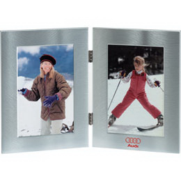 Double Window Metal Picture Frame