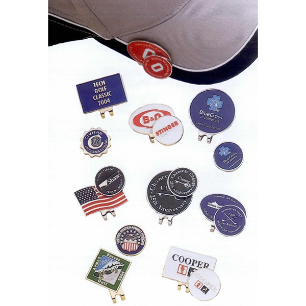 Custom hat Clip & Ball Marker Combo