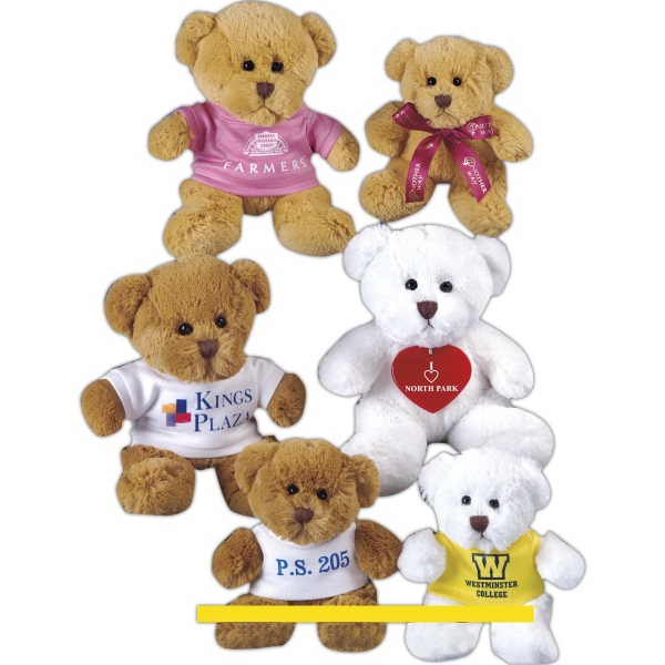 "Jamie Bear (TM) 8"" stuffed toy bear"