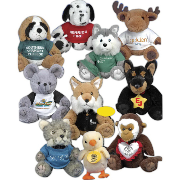 "Good-Buy Bunch (TM) 8"" stuffed animal"