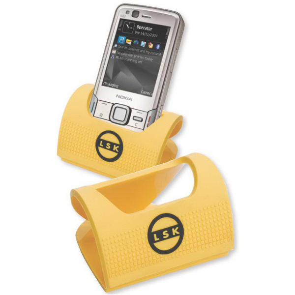 Printed Laser Cut PVC Cell Phone Holder