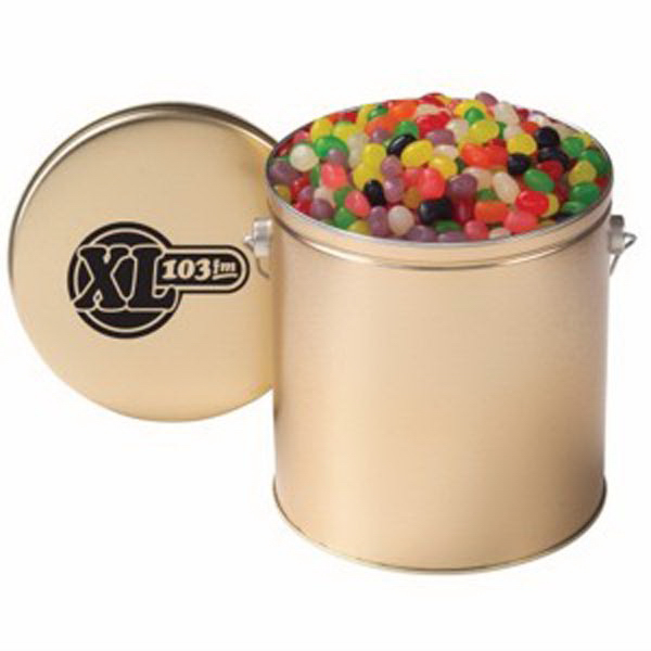 Gallon Tin with Jelly Beans