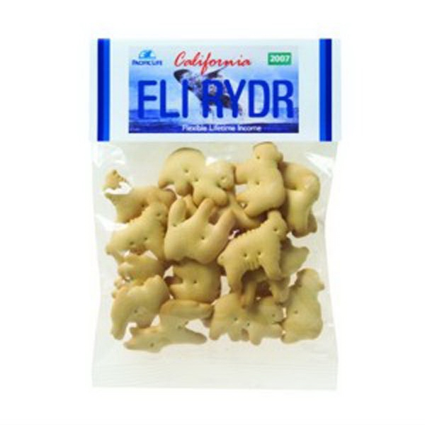 2 oz Animal Crackers/Header Bag