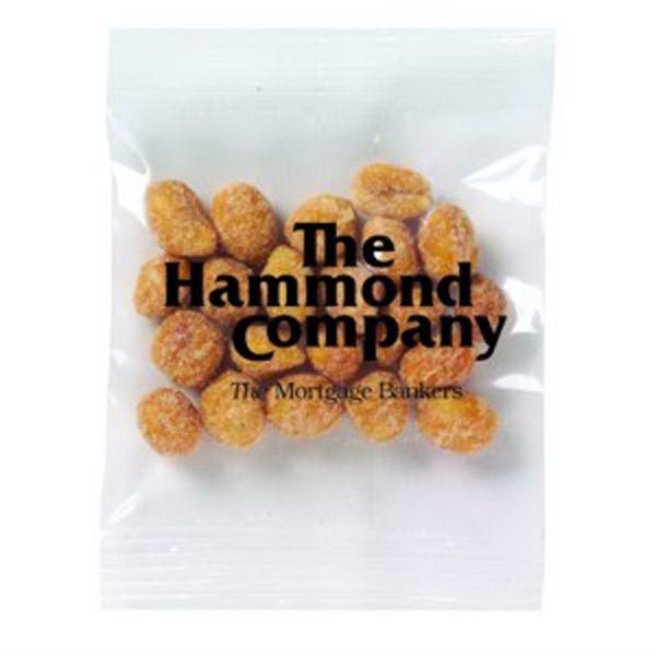 Printed Promo Snax Bags Peanuts (Dry Roasted/Honey Roasted)