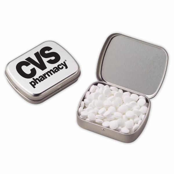 Small Hinged Tin with Sugar Free Mini Mints