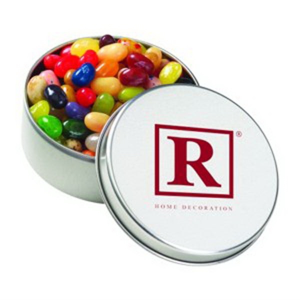 Large Round Tin / Jelly Belly (R) Jelly Beans