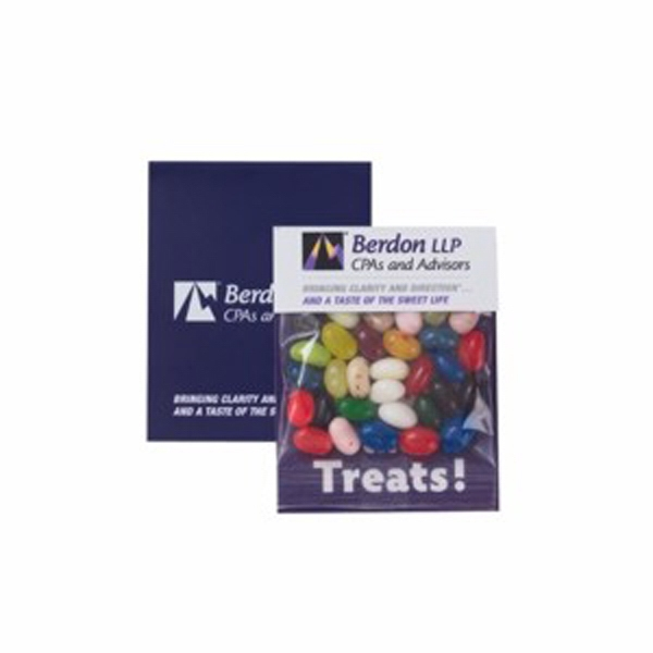Small Billboard Header Bag with Gourmet Jelly Beans