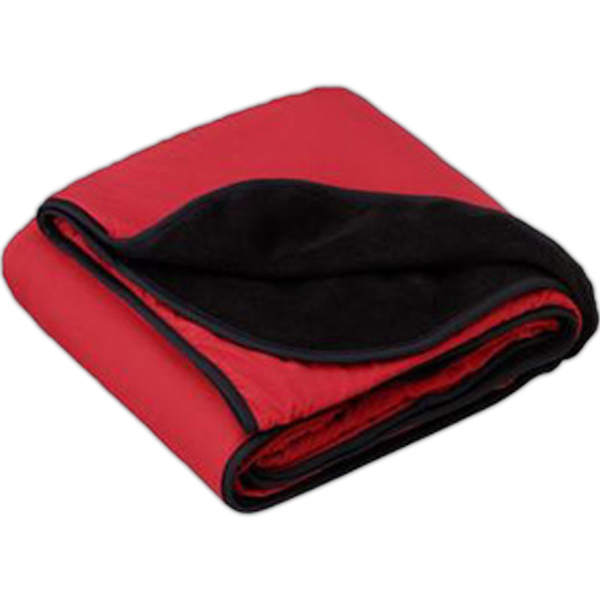 Port Authority(R) Fleece And Nylon Travel Blanket