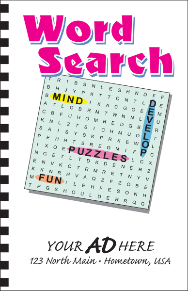 Puzzle Book - word search