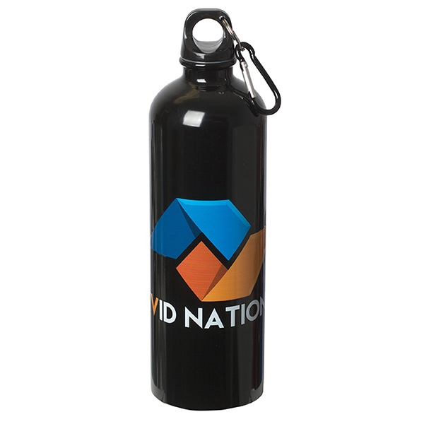 750 mL. (25 oz.) Stainless Steel Water Bottle