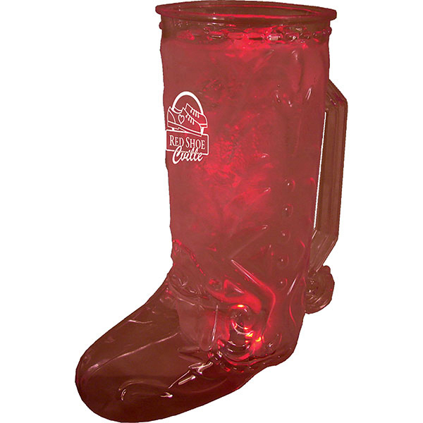 20oz Single Light Cowboy Boot Mug