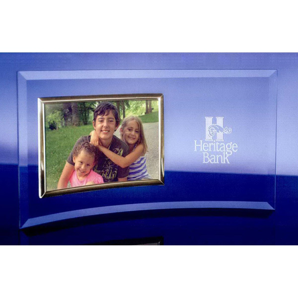 "3.5"" x 5"" Picture Frame with Gold Frame"