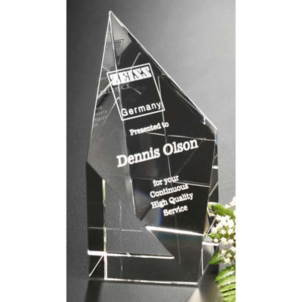 Personalized Diamond Spire Award