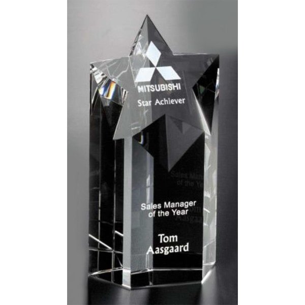 Personalized Mega Star Award