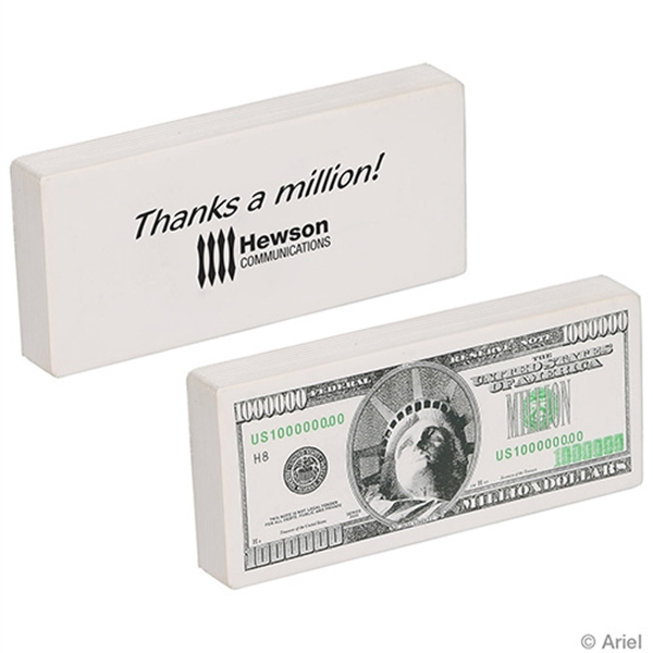 Million Dollar Bill Stress Reliever
