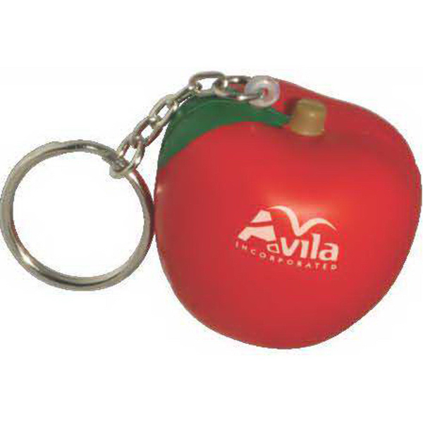 Fruit Shape Stress Reliever Key Chain