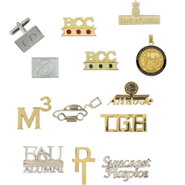 Cut Out Lapel Pins