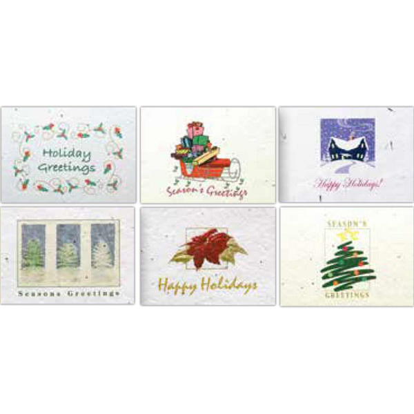 Six pack of greeting cards