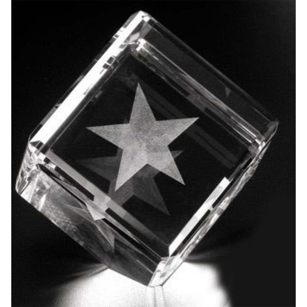 Promotional Cut Corner Cube Award