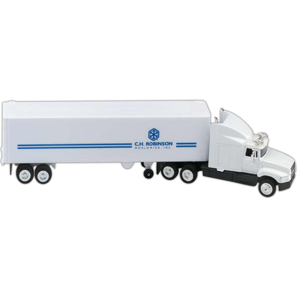 Promotional White Aeromax with Trailer