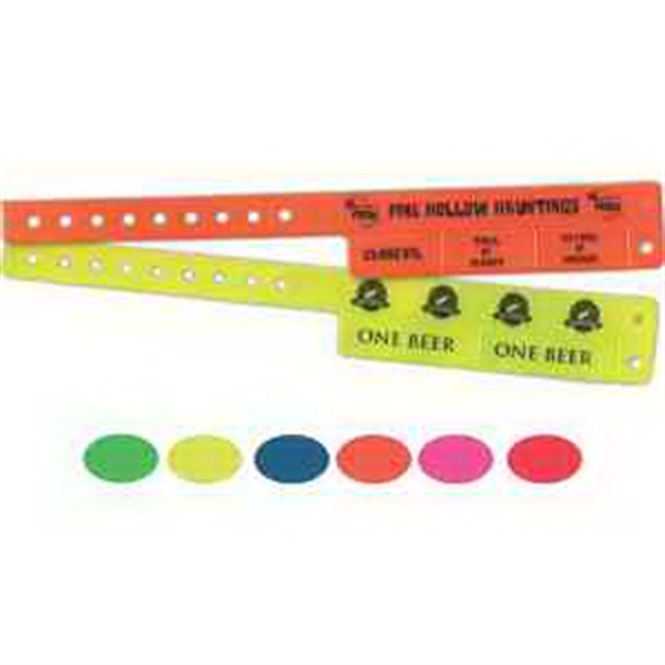 Neon Cash Tabs Wristband