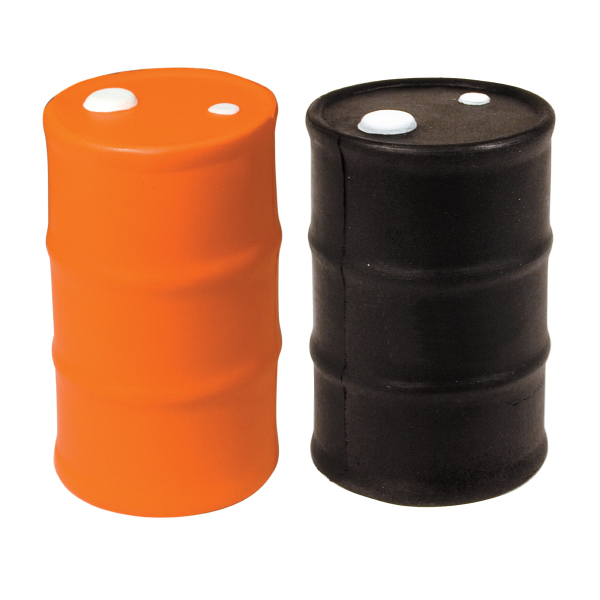 Squeezies (R) Oil Drum Stress Reliever