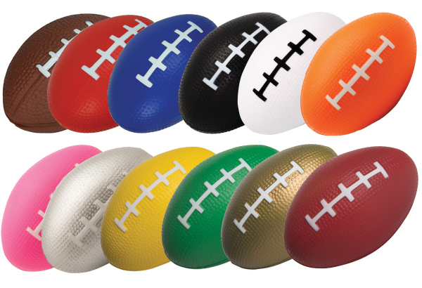 "Squeezies 3.5"" Football Stress Relievers"