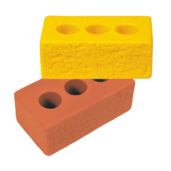 Squeezies (R) Brick Stress Reliever