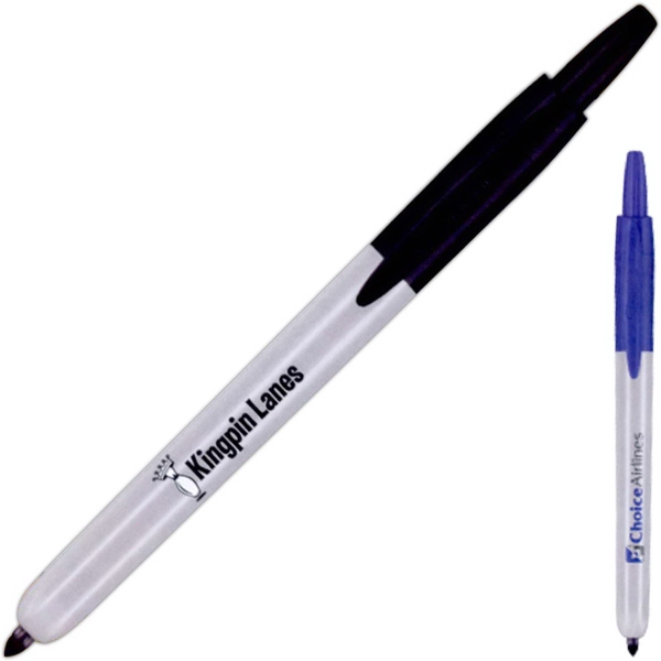 Fine Retractable Permanent Marker