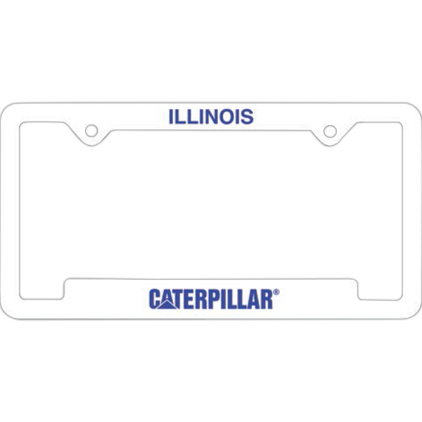 Printed License Frames