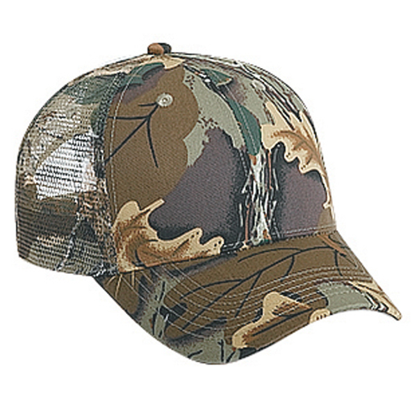 Six Panel Low Profile Pro Style Mesh Back Cap