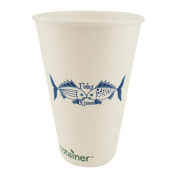 Imprinted Biodegradable Solid Cup