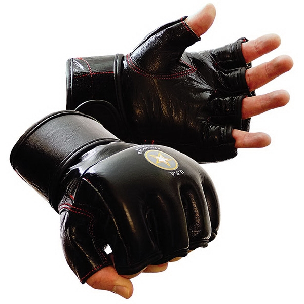 MMA Grappling Gloves, Leather