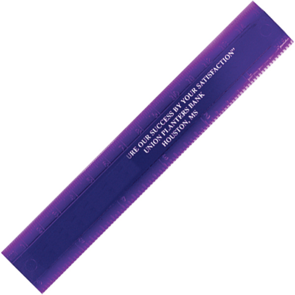 "Double Beveled Edge 6"" Ruler"
