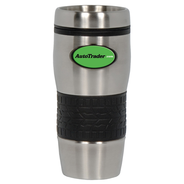 Customized PhotoVision 16 oz. Stainless Tire Tumbler