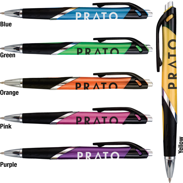 Prato pen with rubber grip