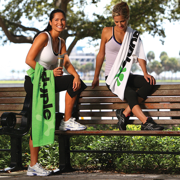 Printed Thirsty Game Towel with CleenFreek (R)