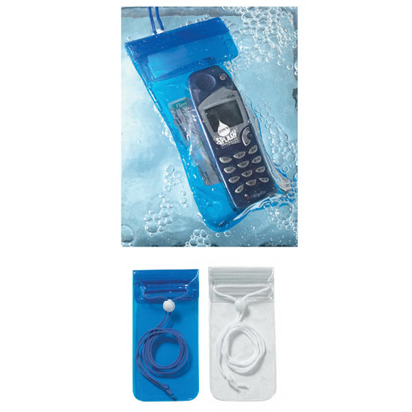 Handy Waterproof Pouch With Neck Cord