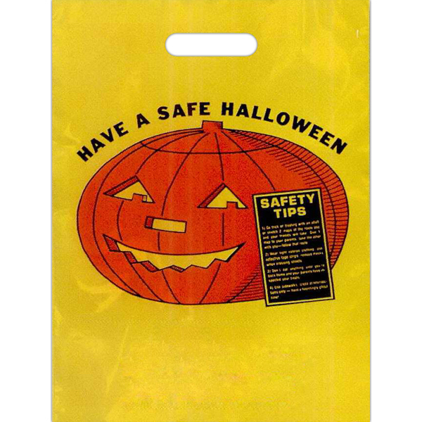 "11"" x 15"" Stock Design Halloween Bag"