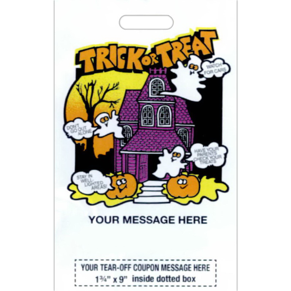 "11"" x 18"" Stock Design Coupon Halloween Bag"