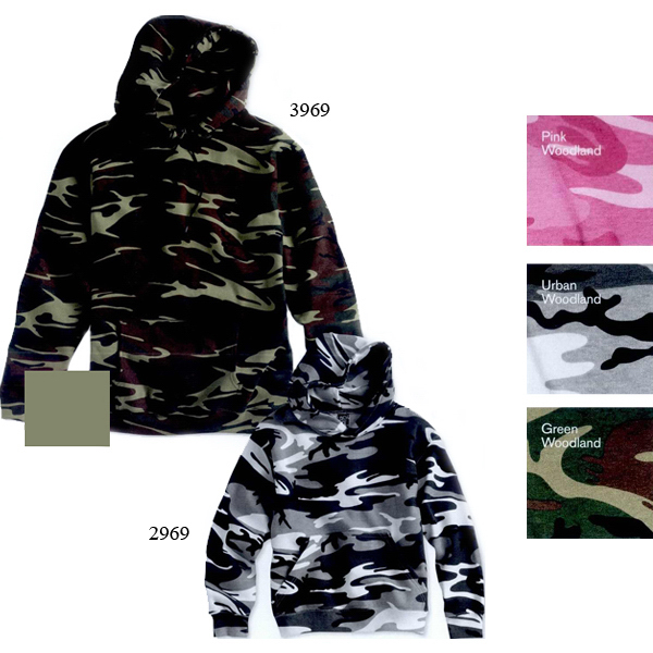 Code V Youth Camouflage Pullover Hooded Sweatshirt