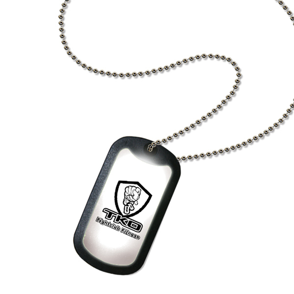 BuzArmy Lighted Dog Tag Necklace