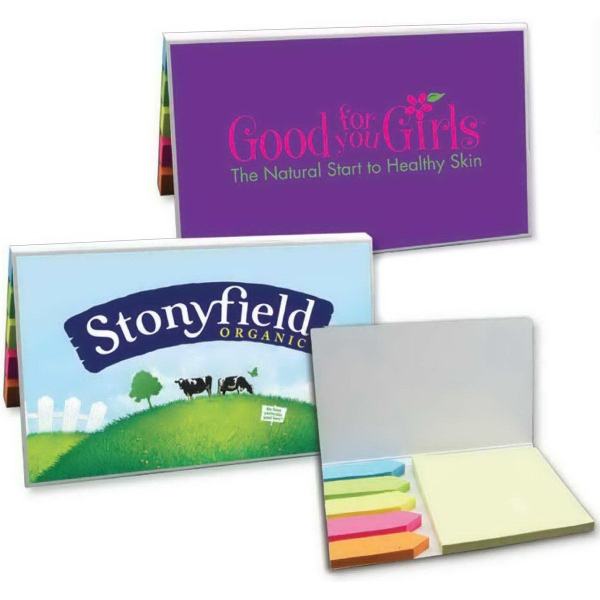 Sticky Notes w/ Flags - 6 Pads (50 Sheet Pad)