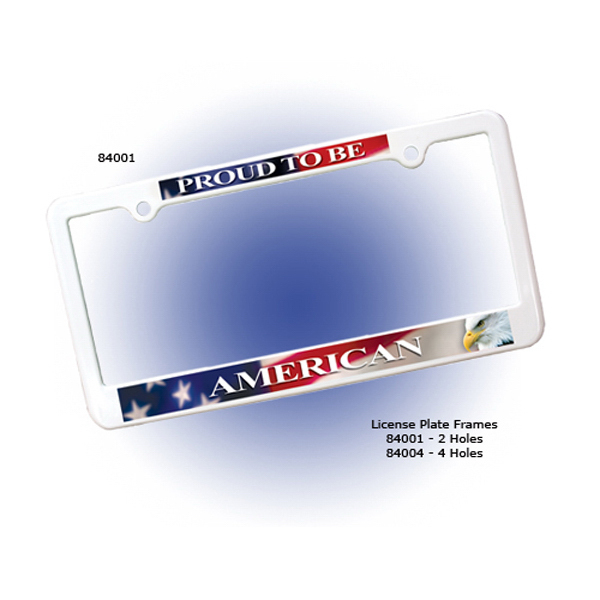 License Plate Frame - Full Color Digital