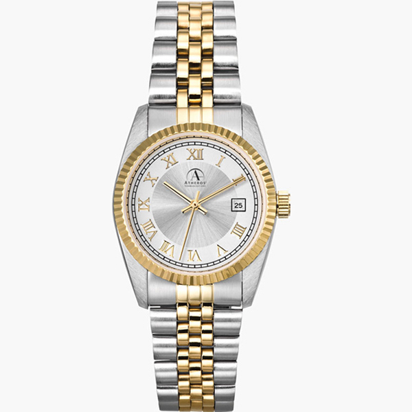 Polished Gold Finish Watch