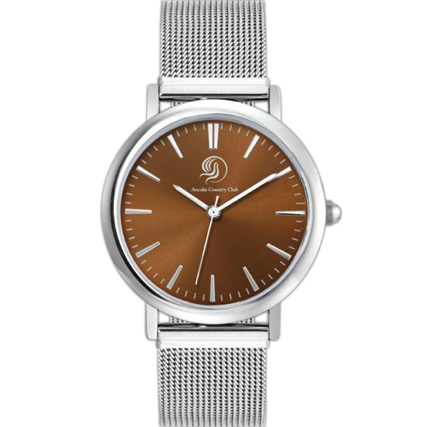 Imprinted Metal Case Watch