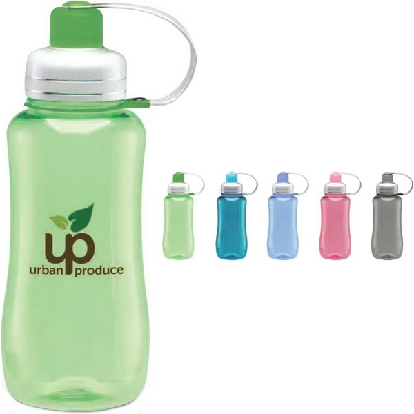 Silver Top Collection Water Bottle