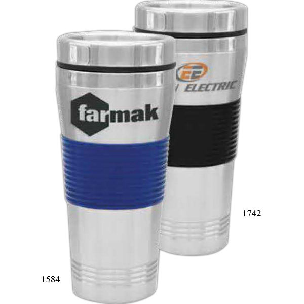 Customized Steel City Double Wall Chromacolor Tumbler
