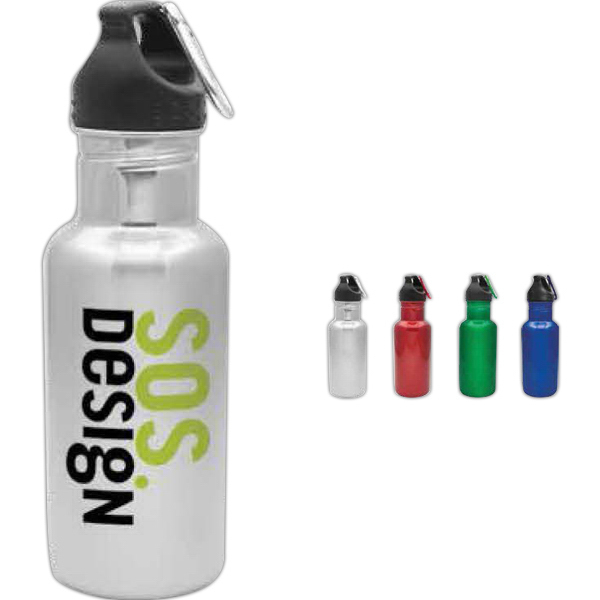 Printed Stainless Steel Backpack Collection Water Bottle